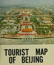 Vintage Tourist Map of Beijing, China Cartographic Publishing House