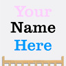 Personalized Custom Kids Name Bedroom Home Decor Decal Wall Sticker & Vinyl Art