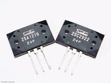 Genuine Sanken 2SA1216 + 2SC2922 Audio Power Transistors Complementary