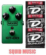 MXR M-193 GT-OD Overdrive Guitar Effect Pedal M193 ( 3 FREE DUNLOP STRING SETS )