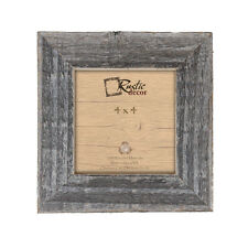 "4x4 - 1.5"" Wide Reclaimed Rustic Barn Wood Instagram Photo Frame"