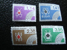 FRANCE - timbre yt preoblitere n° 182 a 185 n** (A2) stamp french (A)