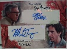 Steve Coulter Michael Traynor Dual Auto Walking Dead Survival Box Topps #65/99