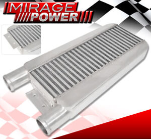 """23""""X11""""X3"""" Turbo Intercooler Same Side 2.5 Inlet & Outlet Mustang Focus Ford"""