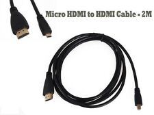 HDMI to MICRO HDMI High Speed Lead Cable 3D LCD HDTV Video Xbox 1080p 2M
