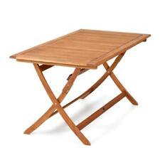 Tavolo in legno per esterno pieghevole 150x80 arredo giardino