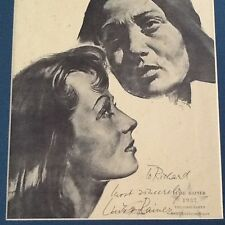 Luise Rainer SIGNED Photo Matted!!!   The Good Earth Oscar Winner Actress 1937