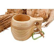 Retki Guksi Kuksa große Holz-Tasse Holzbecher, Trinkgefäß, Becher aus Eiche 290