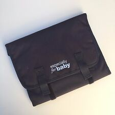 Especially for Baby Infant Black Foldable Diaper Changing Station Pad Mat Cover