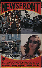 Newsfront by Robert Macklin (1978) - Sun Books Paperback