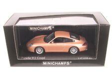 Minichamps Porsche 911 Coupé Año Fabricación 2001- plata 1 43