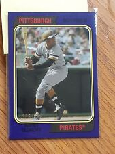 2020 Topps Archive Roberto Clemente Purple Parallel 116/175 PIRATES