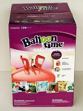 50 JUMBO HELIUM BALLOONS KIT BY BALLOON TIME GAS TANK BOTTLE RIBBON INFLATOR