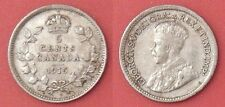Very Fine 1915 Canada Silver 5 Cents