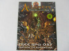 ATLANTIS THE SECOND AGE Free RPG Day Prelude To Adventure Roleplaying Book NEW!!