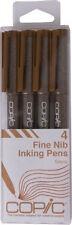 Too Copic JAPAN Multiliner Pens set Sketch Pen Marker Marqueur Sepia color
