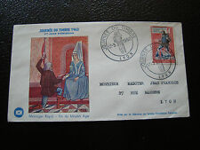 FRANCE - enveloppe 1er jour 17/3/1962 (cy33) french (A)
