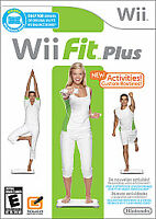 Wii Fit Plus - Nintendo Wii - Exercise Game - NO Balance Board - FREE FAST SHIPP