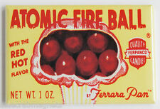 Atomic Fireball Fridge Magnet (2 x 3 inches) candy wrapper box