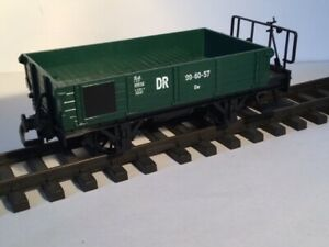 LGB 99 60 57 DR GREEN FIVE PLANK OPEN GOODS WAGON MINT BOXED