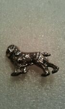 Vintage Sterling Silver  00004000 925 Beau Sterling Cocker Spaniel Dog Pin Brooch~Euc!