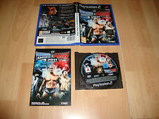 WWE SMACKDOWN VS. RAW 2011 DE THQ PARA LA SONY PLAY STATION 2 PS2 USADO COMPLETO