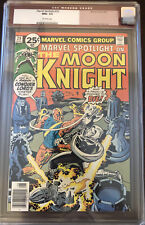 MARVEL SPOTLIGHT 29  *9.6 NM+ CGC Old Label* Moon Knight. Off-White Pages.