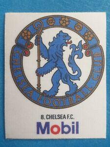 Mobil Football Club Badges Silk 1983 Chelsea