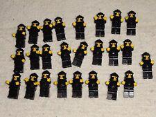 LEGO BRAND 25 Castle knight minifigures in armor - random black torsos.