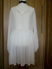 Next Sheer Cream Lagenlook Tunic, Size 18, BNWT
