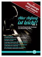 Klavierschule Noten Klavier Schule Piano Anfang Heft Buch Video Audio Download