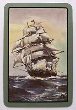 Vintage Swap/Playing Card - BEAUTIFUL OLD SHIP