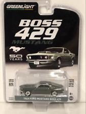 1969 Ford Mustang Boss 429 50th Anniversary 1:64 Greenlight 27980B