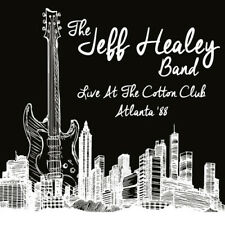 The Jeff Healey Band : Live at the Cotton Club '88 CD (2017) ***NEW***