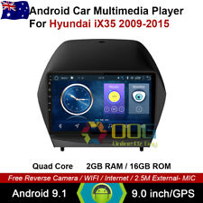 "9"" Android 9.1 Quad Core Car Non DVD GPS For Hyundai iX35 2009-2015"