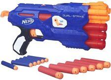 Kids Nerf Gun N-Strike Elite and Mega Whistler Darts DualStrike Blaster Pack New