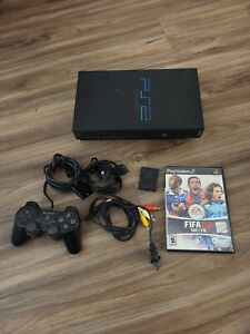Sony PlayStation 2 PS2 System w/controller & game TESTED AND WORKING!