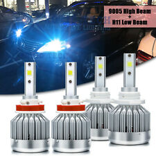 H8 H9 H11 9005 8000K LED Headlight High Low Beam Bulbs Kit For Lexus RX350 07-15