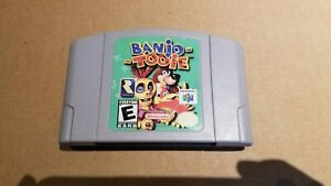 Banjo-Tooie Nintendo 64 N64 Authentic Used Good Condition Tested