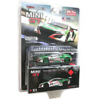 MINI GT MGT00051 HONDA NSX GT3 24 HOUR SPA CASTROL OIL 1/64 GREEN / WHITE Chase