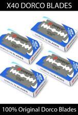X40 pcs Dorco Double Edge Razor Blades Stainless Blades 100% Original Men shave