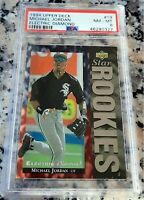 MICHAEL JORDAN 1994 UD SP Electric Diamond STAR Rookie Card RC PSA 8 White Sox $