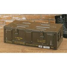81mm Brown Ammo Can U.S. Military Surplus Issue Storage Organizer Collectible