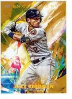 Alex Bregman 2020 Topps Inception 5x7 Gold #33 /10 Astros