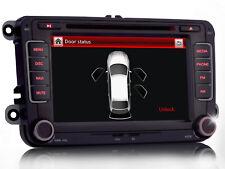 "7"" HD Autoradio NAVI GPS DVD Bluetooth MP3 TPMS+ Per VW Passat Golf Sharan Polo"