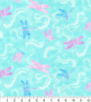 Glitter Dragonfly Cotton Fabric  Bugs  Fabric Traditions    By the Yard    Bfab