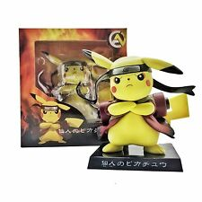 Pokemon Go 5'' Pikachu in Naruto Dressing Collection Figure PVC Model Anime Toy