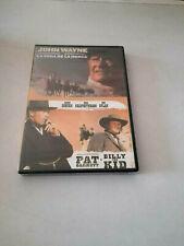 "DVD ""LA SOGA DE LA HORCA / PAT GARRETT Y BILLY THE KID"" 2DVD JOHN WAYNE SAM PECK"