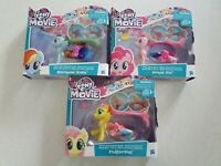My Little Pony Land & Sea Fashion ~ Fluttershy, Pinkie Pie & Rainbow Dash