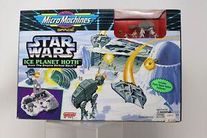 1994 Galoob Star Wars Micro Machines Planet Hoth Playset MIB